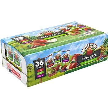 Apple & Eve® 100% Juice Variety Pack, 6.75 oz., 36/CS