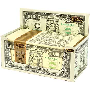 Barton's® Million Dollar Bar Milk Chocolate, 2 oz., 24/PK