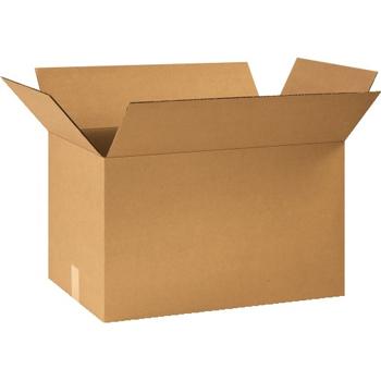"""W.B. Mason Co. Corrugated boxes, 26"""" x 16"""" x 16"""", Kraft, 15/BD"""