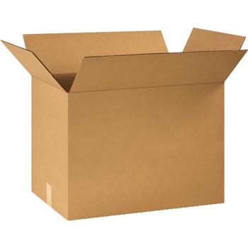 """W.B. Mason Co. Corrugated boxes, 24"""" x 14"""" x 18"""", Kraft, 20/BD"""