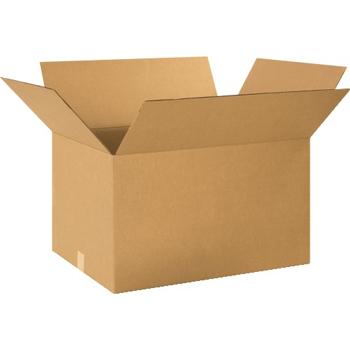 """W.B. Mason Co. Corrugated boxes, 24"""" x 18"""" x 14"""", Kraft, 15/BD"""