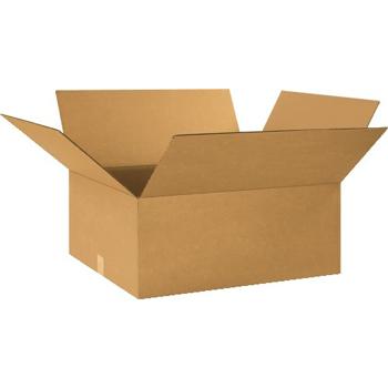 """W.B. Mason Co. Corrugated boxes, 24"""" x 20"""" x 10"""", Kraft, 20/BD"""