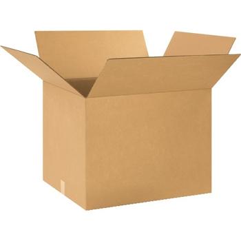 """W.B. Mason Co. Corrugated boxes, 24"""" x 20"""" x 18"""", Kraft, 10/BD"""