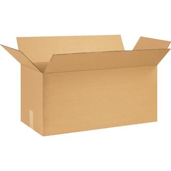 """W.B. Mason Co. Corrugated boxes, 24"""" x 10"""" x 12"""", Kraft, 25/BD"""
