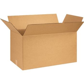 """W.B. Mason Co. Corrugated boxes, 26"""" x 14"""" x 14"""", Kraft, 10/BD"""