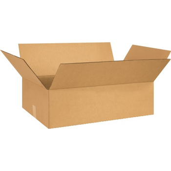 """W.B. Mason Co. Corrugated boxes, 26"""" x 15"""" x 5"""", Kraft, 20/BD"""