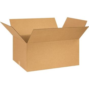 """Corrugated boxes, 26"""" x 18"""" x 12"""", Kraft, 20/BD"""