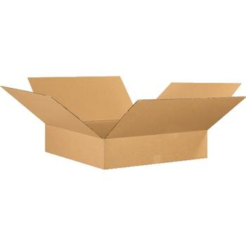 """W.B. Mason Co. Flat Corrugated boxes, 26"""" x 26"""" x 6"""", Kraft, 10/BD"""