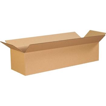 """W.B. Mason Co. Corrugated boxes, 26"""" x 6"""" x 6"""", Kraft, 25/BD"""