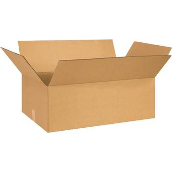 """W.B. Mason Co. Corrugated boxes, 27"""" x 14"""" x 9"""", Kraft, 20/BD"""