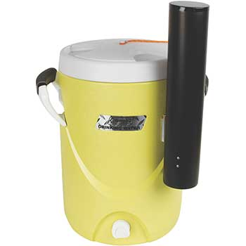 Coleman Beverage Cooler, 5 Gallons, Yellow