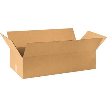 """W.B. Mason Co. Flat Wardrobe boxes, 36"""" x 21"""" x 10"""", Kraft, 10/BD"""