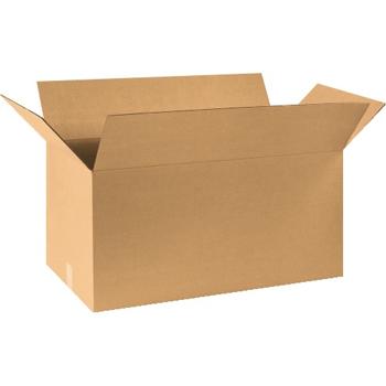 """W.B. Mason Co. Corrugated boxes, 30"""" x 15"""" x 15"""", Kraft, 20/BD"""