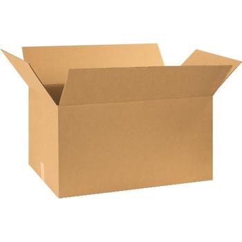 """W.B. Mason Co. Corrugated boxes, 30"""" x 17"""" x 16"""", Kraft, 20/BD"""