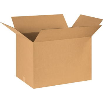 "W.B. Mason Co. Corrugated boxes, 30"" x 18"" x 18"", Kraft, 10/BD"