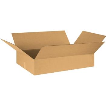 """W.B. Mason Co. Corrugated boxes, 30"""" x 20"""" x 6"""", Kraft, 15/BD"""
