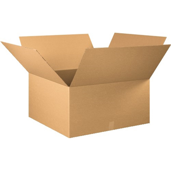 "W.B. Mason Co. Corrugated boxes, 30"" x 30"" x 16"", Kraft, 10/BD"