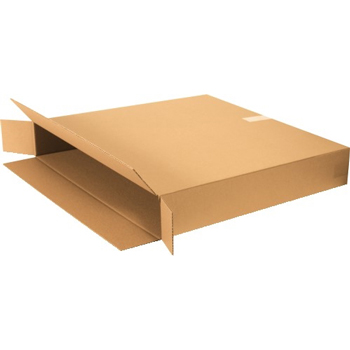 "W.B. Mason Co. Side Loading boxes, 40"" x 6"" x 40"", Kraft, 20/BD"