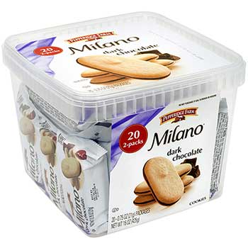 Pepperidge Farm® Milano Dark Chocolate Cookies, 20/PK