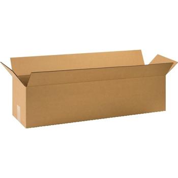 """W.B. Mason Co. Long Corrugated boxes, 32"""" x 8"""" x 8"""", Kraft, 25/BD"""