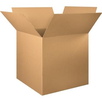 """W.B. Mason Co. Corrugated boxes, 34"""" x 34"""" x 34"""", Kraft, 5/BD"""