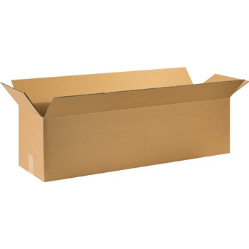 "Long Corrugated boxes, 44"" x 12"" x 12"", Kraft, 15/BD"
