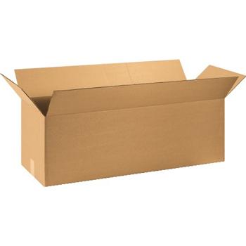 """W.B. Mason Co. Long Corrugated boxes, 36"""" x 12"""" x 12"""", Kraft, 20/BD"""