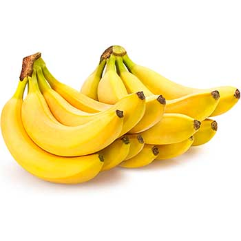 Fresh Bananas, 2 Bunches, 6 lb. Bag