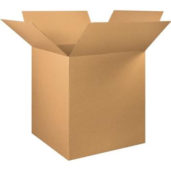"""W.B. Mason Co. Corrugated boxes, 36"""" x 35"""" x 40"""", Kraft, 5/BD"""
