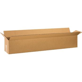 """W.B. Mason Co. Corrugated boxes, 40"""" x 6"""" x 6"""", Kraft, 25/BD"""