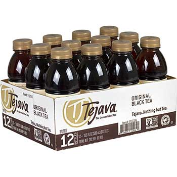Original Unsweetened Black Tea, 16.9 oz., 12/PK