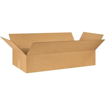 "W.B. Mason Co. Corrugated boxes, 40"" x 18"" x 8"", Kraft, 20/BD"