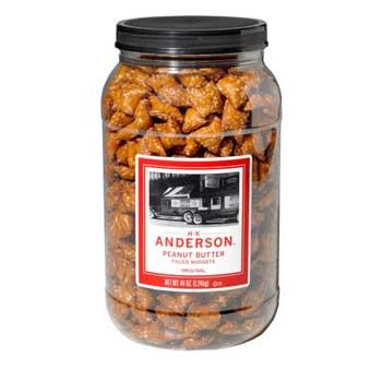 Pretzel Nuggets, Peanut Butter Filled, 44 oz. Tub