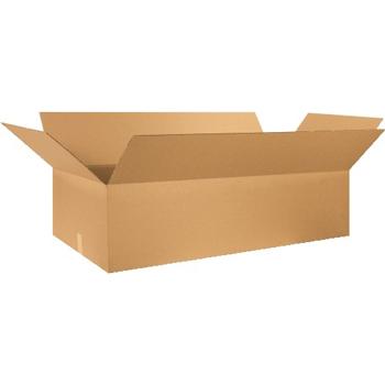 """W.B. Mason Co. Corrugated boxes, 46"""" x 20"""" x 12"""", Kraft, 10/BD"""