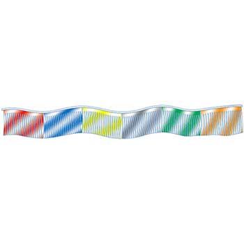 Auto Supplies Metallic Streamers, Multi-Color, 1/PK