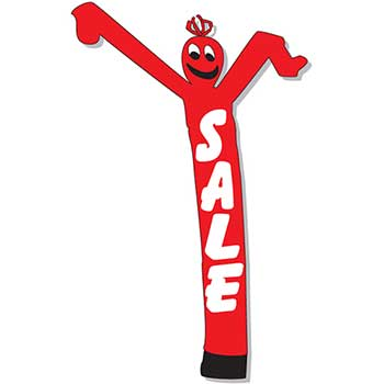 W.B. Mason Auto Supplies Air Dancer, Red Sale