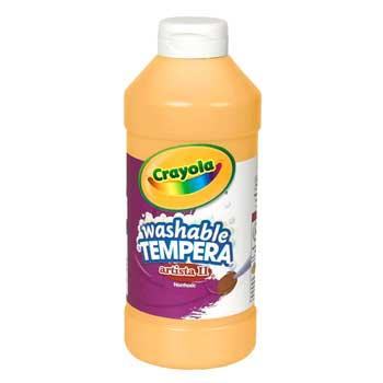 Crayola® Artista II Washable Tempera Paint, 16 oz., Peach