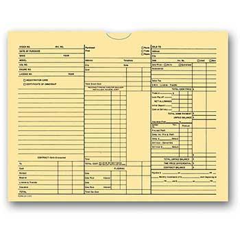 W.B. Mason Auto Supplies 3-in-1 Deal Jacket, Form #237, 500/PK