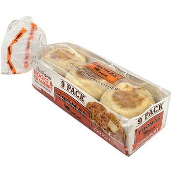 Thomas'® Original English Muffins, 18/PK