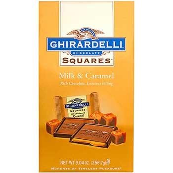 Ghirardelli® Chocolate Squares Milk & Caramel, 9.04 oz., 2/PK
