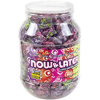 Now and Later® Assorted Jar, 365 Count