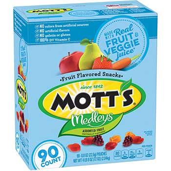 Mott's® Medleys Fruit Snacks, 0.8 oz., 90/BX
