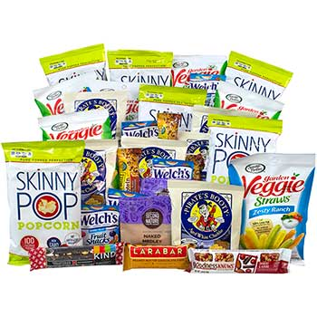 Gluten Free Snack Box, 32/BX