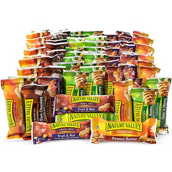 Granola Bar Variety Snack Box, 84/BX