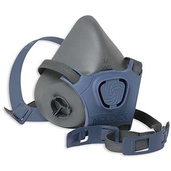 7000 Series Pre-Assembled Water-Based Paint Spray/Pesticide Half Mask Respirator, Medium