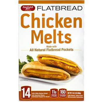 Sandwich Bros. of Wisconsin® Chicken Melts Flatbread, 14/PK