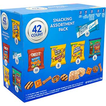 Keebler® Cookie & Cracker Variety Pack, 42/PK