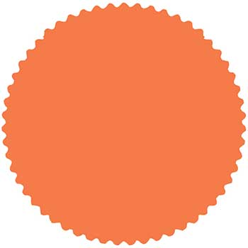 W.B. Mason Auto Supplies CSI Labels, Fluorescent Orange, 1000/PK