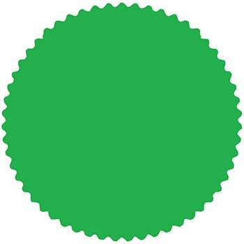 W.B. Mason Auto Supplies CSI Labels, Fluorescent Lime, 1000/PK