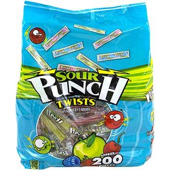 Sour Punch® Twists 4-Flavor, 40 oz. Pouch